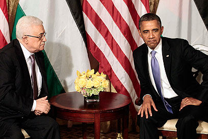 Crushing hopes. Obama and Abbas in New York (Photo: AP)