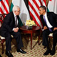 Obama and Abbas Photo: AP