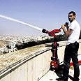 הדגמה של אחד מהתותחים צילום: שלומי כהן