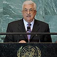 Abbas. Firm speech Photo: AFP
