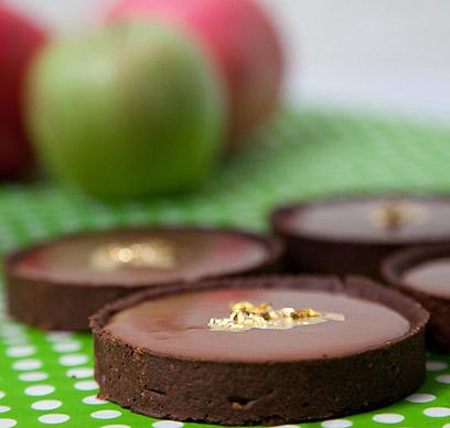 שילוב מנצח! טארטלט דבש ושוקולד (צילום: תום להט)