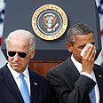 Biden and Obama Photo: Reuters