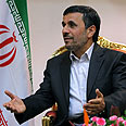 'Seeks new friends.' Ahmadinejad Photo: AFP
