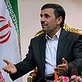 'Seeks new friends.' Ahmadinejad Photo: AFP