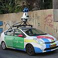 Google Street View car (archives) Photo: Ido Kenan