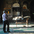 Damaged mosque Photo: Avihu Shapira