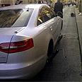 Litzman's car (Photo archives)