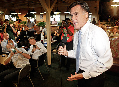 Romney. Slams Obama for 'ambivalence' (Photo: AP)
