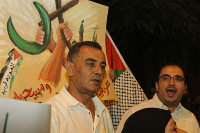 MK Zahalka blames government (Photo: Ofer Amram)