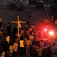 Copts take to streets in Cairo Photo: AFP