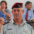 IDF chief Gantz Photo: Avishag Shaar-Yeshuv