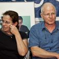 'Important to keep feet on ground.' Gilad's parents Photo: Noam Moskovitz