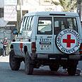 Red Cross vehicle Photo: EPA