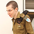 Shalit with IDF uniform Photo: IDF