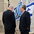 Netanyahu and Barak. In cahoots? Photo: Ariel Hermoni, Defense Ministry