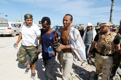 Libyan rebels (Photo: Reuters)