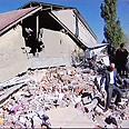 Quake's destruction Photo: Reuters