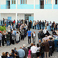 Long lines at ballots in Tunisia Photo: AFP