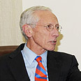 Stanley Fischer. 'Challenging time' Photo: Amos Ben Gershom, GPO
