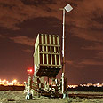 Iron Dome intercepts Gaza rockets Photo: Shaul Golan, Yedioth Ahronoth