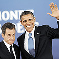 Rookie mistake. Sarkozy and Obama Photo: MCT