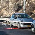 Car after incident Photo: Noam Moskowitz