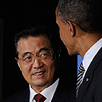 Obama and China&#39;s Hu Jintao Photo: Reuters