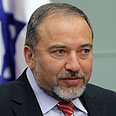 Lieberman. 'Infantile claim' Photo: Alex Kolomoisky, Yedioth Ahronoth