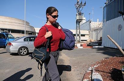 ענת קם בנובמבר, מתחילה לרצות מאסר בנווה תרצה (צילום: ירון ברנר)