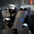 Police forces in Tahrir Square Photo: Reuters