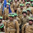Revolutionary Guard's march Photo: AP