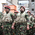 Ready for battle? Revolutionary Guard Photo: AP
