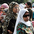 Voters in Egypt Photo: AFP
