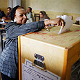Voting in Cairo Photo: Reuters
