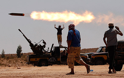Revolution in Libya (Photo: Reuters)
