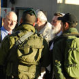 MKs inspect checkpoint Photo: Arik Ben-Shimon, National Union