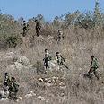Lebanon border area Photo: AP