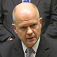 Twin-track strategy. Hague Photo: EPA