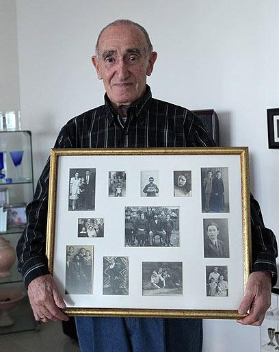 """""""היה תיעוד שלי בכל מחנה שבו הייתי בשואה"""". מרטין הכט (צילום: אלי אלגרט)"""