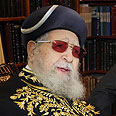 Rabbi Ovadia Yosef. 'Every person must love and honor his wife' Photo: Gil Yohanan