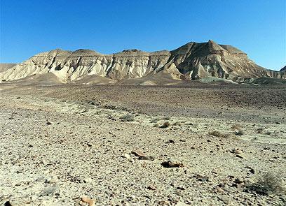 האם אכן זהו הר סיני המקראי? הר כרכום (צילום: זיו ריינשטיין)