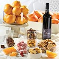 Citrus fruit alongside Israeli delicacies Photo: Ben Ezer Plantations