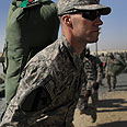 US soldier ready to leave Iraq Photo: AFP