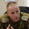 Lt. Col. Tzur Harpaz Photo: Ofek Ron-Carmel, Bamahane