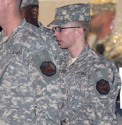 המדליף האחרון שהביך את הממשל האמריקני. ברדלי מנינג (צילום: AFP)