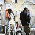 עובדים זרים בתל אביב צילום: ריאן