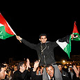 Palestinians celebrate Photo: Reuters
