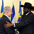 Netanyahu and South Sudan's president Photo: GPO
