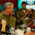 IDF Chief Gantz at telethon Photo: IDF Spokesperson's Unit
