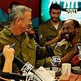 IDF Chief Gantz at telethon Photo: IDF Spokesperson's Unit